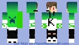 gamer boy Minecraft Skin