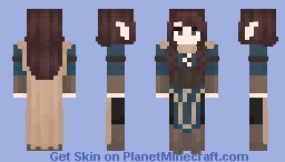 Elf adventurer I guess Minecraft Skin