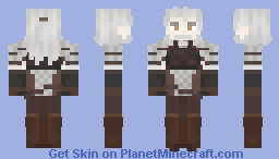 Witch Hunter Gary Minecraft Skin