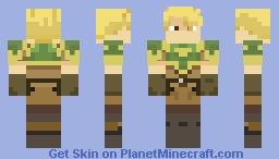 Astram: Midia's Hero (Fire Emblem: Shadow Dragon) Minecraft Skin