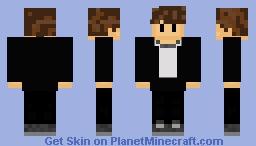 Wilbur Soot's Minecraft Skin Minecraft Skin