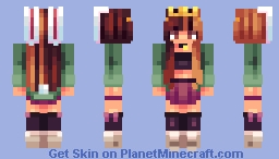 ~✿~ Celestine || New outfit || Been awhile Minecraft Skin