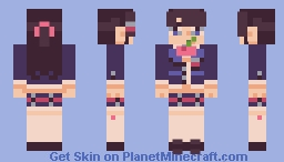 Tsukino Mito Minecraft Skin