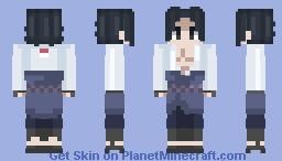 Naruto - Sasuke Uchiha (Shippuden) Minecraft Skin