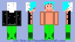 Merman slenderman??? (Weird requested skin) Minecraft Skin