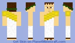 """Gaius """"Caligula"""" Julius Caesar Augustus Germanicus Minecraft Skin"""