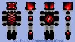 burning rage [+] Minecraft Skin