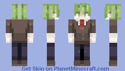 💚Rantaro Amami - 𝙳𝚁 𝚅𝟹 [𝙿𝚁𝙴-𝙶𝙰𝙼𝙴] Minecraft Skin