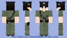 Royal Hong Kong Police Force - Constable (1844-1997) Minecraft Skin