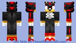 Shadow The Hedgehog Minecraft Skin