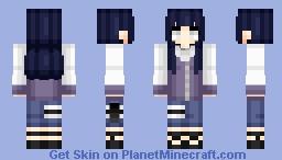 Hinata Hyuga | Naruto Shippuden | Anime cartoon Minecraft Skin