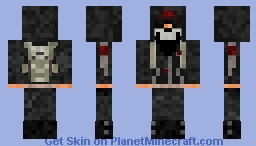 CS:GO Anarchist with Skull Mask (Optional Hoodie) Minecraft Skin