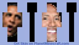 The Rock Obama Minecraft Skin