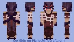 Spinning a webb Minecraft Skin