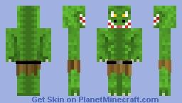 Reptoid Minecraft Skin