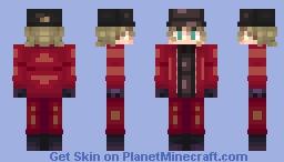 Crimson Jacket Minecraft Skin