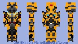 BumbleBee (Transformers The Last Knight) Minecraft Skin
