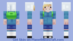 ғιonna - advenтυre тιмe Minecraft Skin