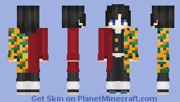 Tomioka Giyu | Kimetsu no Yaiba Minecraft Skin