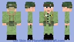 1952 - 64 US Army Combat Infantry Minecraft Skin