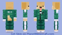 W squid games Minecraft Skin