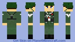 Stabsgefreiter (Staff Exempted Senior Corporal) Minecraft Skin