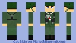 Wehrmacht Unteroffizier-Anwärter (NCO candidate) Minecraft Skin
