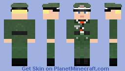 Wehrmacht Feldwebel (Staff Sergeant) Minecraft