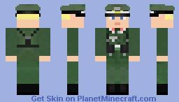Wehrmacht Unteroffizier (Corporal) Minecraft