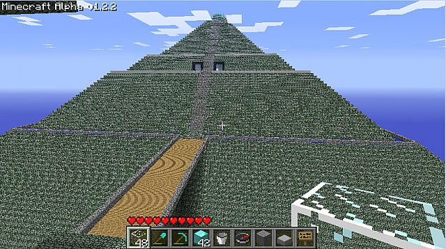 The Aztec Temple Pyramid Minecraft Project