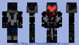 Doom Eternal ember skin Minecraft Skin