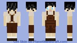 Cottagecore Baker Minecraft Skin