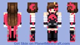 [Kari] 愛 (ai) || Happy Valentine's Day! Minecraft Skin