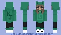 Frog Hoodie Skin Minecraft Skin