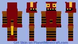 Robot Devil Minecraft Skin
