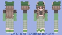 Froggyyy girl Minecraft Skin