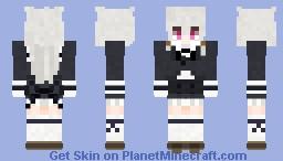 Gothic Anime Girl Minecraft Skin