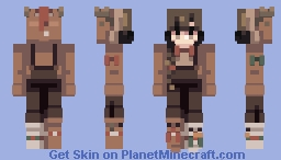 prancing and dancing in the snow Minecraft Skin