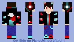 My take on my first skin Minecraft Skin