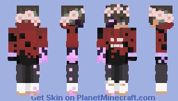 Techno Support thing I guess Minecraft Skin
