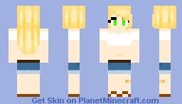 Random OC i made because i feel like i desperately need content (read disc) Minecraft Skin