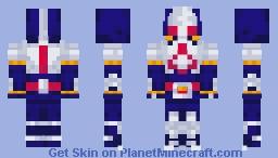Kamen Rider Blade Minecraft Skin