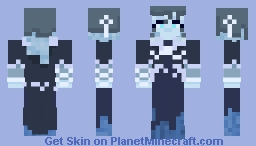 Frozen Queen Minecraft Skin