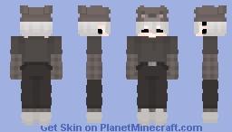 Bear Hat Boy Minecraft Skin