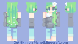 Lily of the Valley ~~ Remake Minecraft Skin