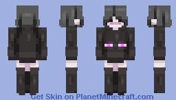 """FALLEN ENDERMAN"" - слив приватного скина F.V. Minecraft Skin"