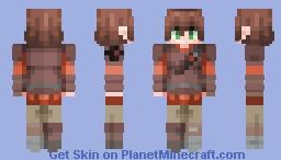 Hiccup Horrendous Haddock III Minecraft Skin
