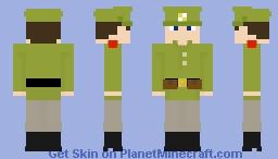 WW1/WWI Russian soldier Minecraft Skin