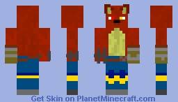 Cody Redwool EX (2018 EDITION) Minecraft Skin
