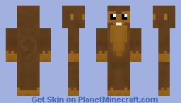 Dart Monkey Minecraft Skin
